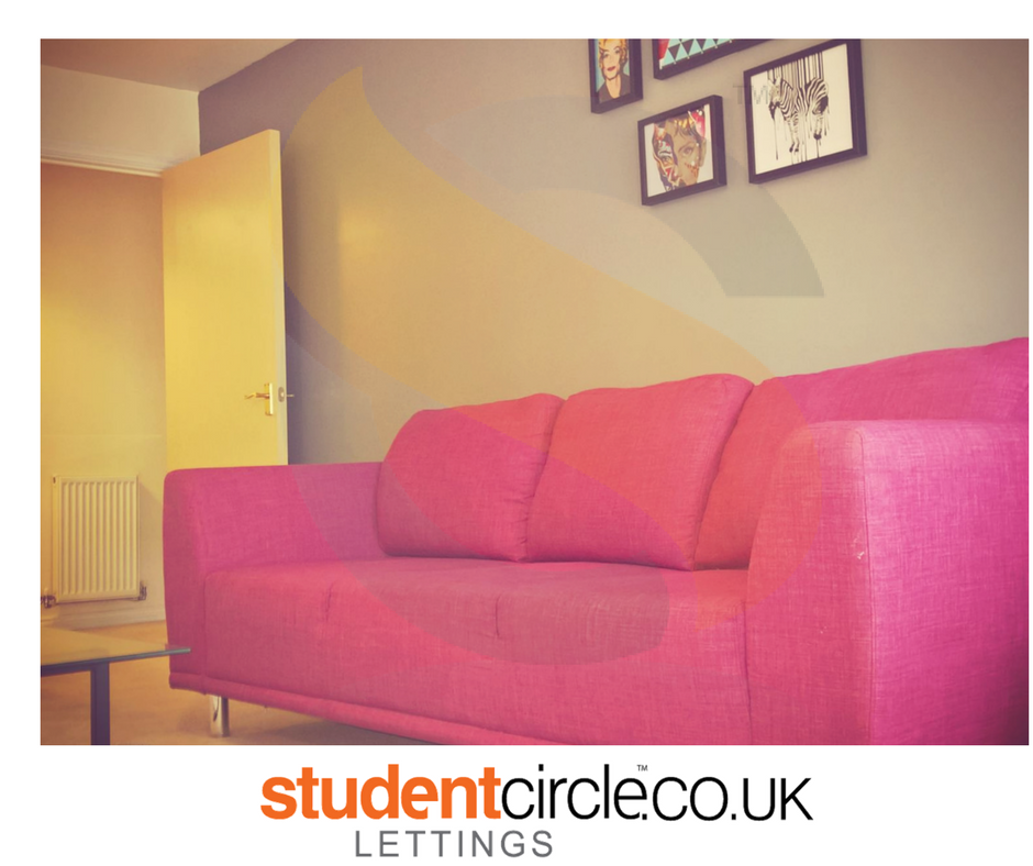advert for 2 bed student accommodation